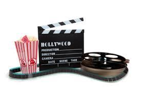 movie reel popcorn