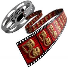 movie reel red