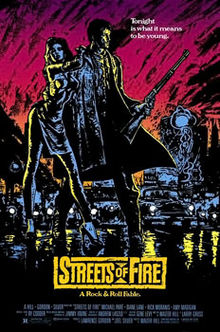 Streets of Fire posterart