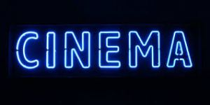 Cinema sign
