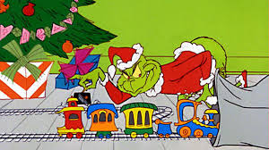 How the Grinch stealing presents