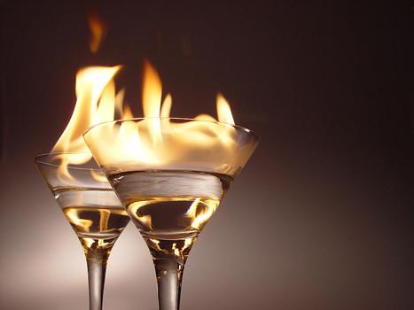 fireglass newyears eve