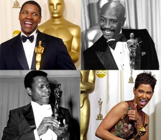 Denzel Washington, Louis Gossett, Jr, Sidney Poiter, Halle Berry