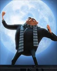 Gru and the Moon