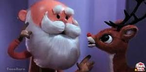 Santa and Rudolph