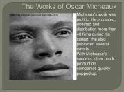 Micheaux Works