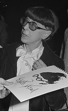 Edith Head in 1976