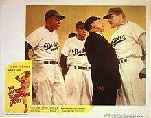 Ernest Laszlo - Jackie Robinson Story lobby card