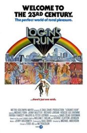 Ernest Laszlo - Logans Run movie poster