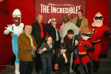 """""""Incredibles"""" voice cast"""