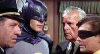 O'Hara (Stafford Repp), Batman, Commissioner Gordon (Neil Hamilton) Robin