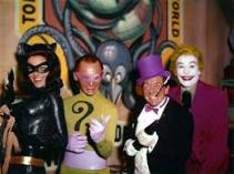 Catwoman, Riddler, Penguin, Joker