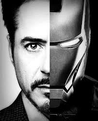 robert downey and iron man