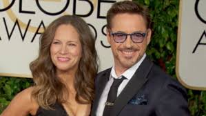 Downey and wife Susan