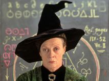 Professor McGonagall - Maggie Smith