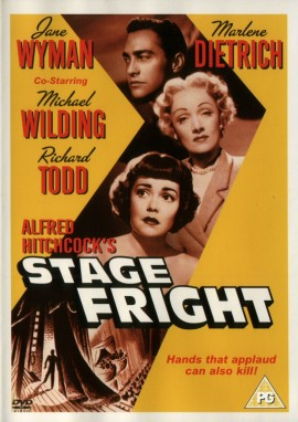 Alfred Hitchcock Stage Fright
