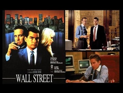 Wall Street collage